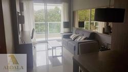 SHTN Asa Norte Brasília   Brisas do Lago - Vista lago, mobília de primeira linha