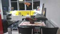 Kitnet à venda SHIS QI 11 Bloco L   Kitnet com divisória e armários, copa com área de serviço no Edifício Joyce Cardoso à vendo - Lago S