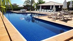Apartamento à venda ITACIMIRIM Condominio Quinta das Lagoas Residence - Ilha do meio . , Condominio Quinta das Lagoas  APARTAMENTO NO TÉRREO NASCENTE VAZADO MOBILIADO E DECORADO ,