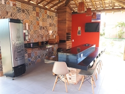 Apartamento para alugar ITACIMIRIM  , Condominio Quinta das Lagoas  APARTAMENTO NO TÉRREO NASCENTE VAZADO MOBILIADO E DECORADO ,