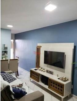 Apartamento à venda QI 7 Bloco S   Apartamento com 02 quartos com 01 suíte, sala, cozinha e 02 banheiros no Edifício José Hipólito Filh