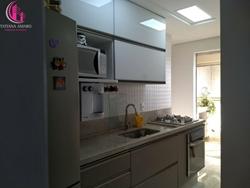 Apartamento à venda Av das Araucárias lote 11 , Canto do sabiá Maravilhoso apartamento 3 quartos reformado andar alto varanda gourmet