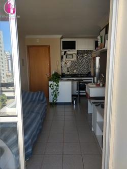 Apartamento à venda Av Parque Águas Claras  , Edifício Morada Nobre Lindo apartamento 1 quarto armários varanda nascente andar alto