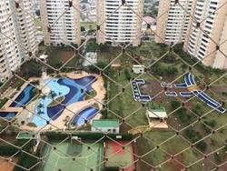 Apartamento à venda QNN 27  , Residencial Allegro Vista para área de lazer