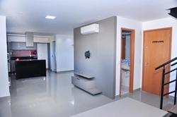 CA 09 Lago Norte Brasília   Apartamento Duplex à Venda, Lago Norte, Brasília/DF, SHIN CA 09, Ed Liberty, cobertura nascente, com