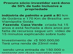 Rural à venda VIANOPOLIS -  PROCURA-SE INVESTIDORES.   ÓTIMA OPORTUNIDADE PARA INVESTIR!!